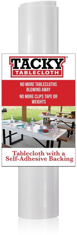 Vinyl Adhesive Tablecloth