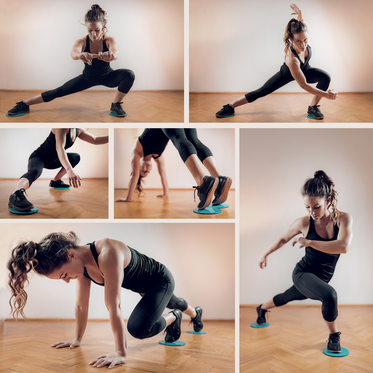 Core & Abs Exercise Sliders