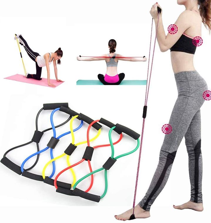Figure-8 Resistance Band for Strength and Stability Exercises