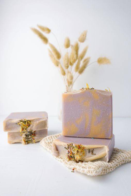 Lavender Apricot Soap Bar