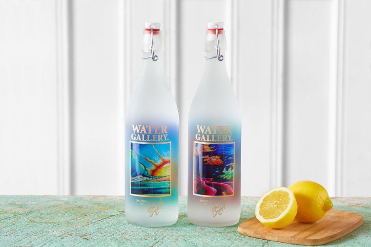 Drew Brophy Glass Water Bottles