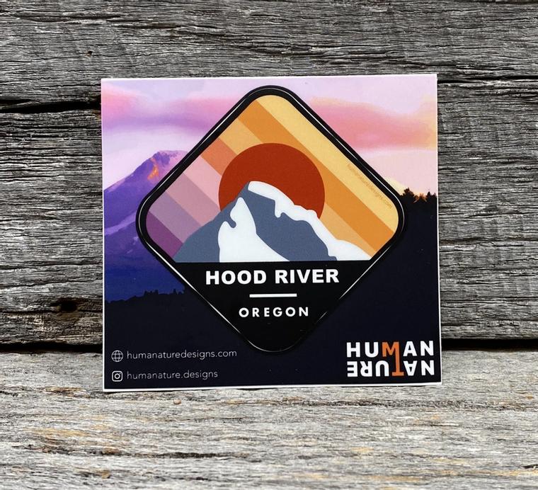 Hood River, Oregon Stickers / Decals - Kiss Cut