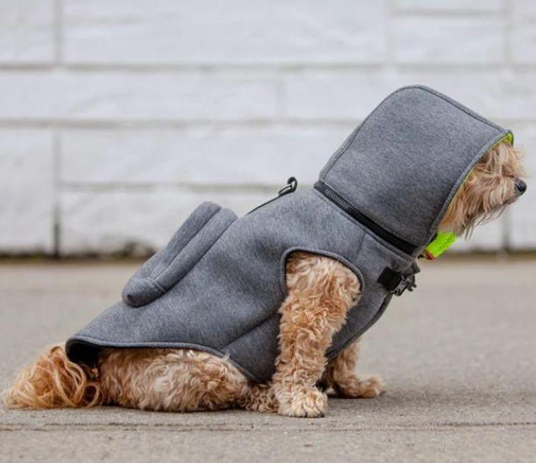 Water-Repellent Warm Hoodie Jacket with Backpack