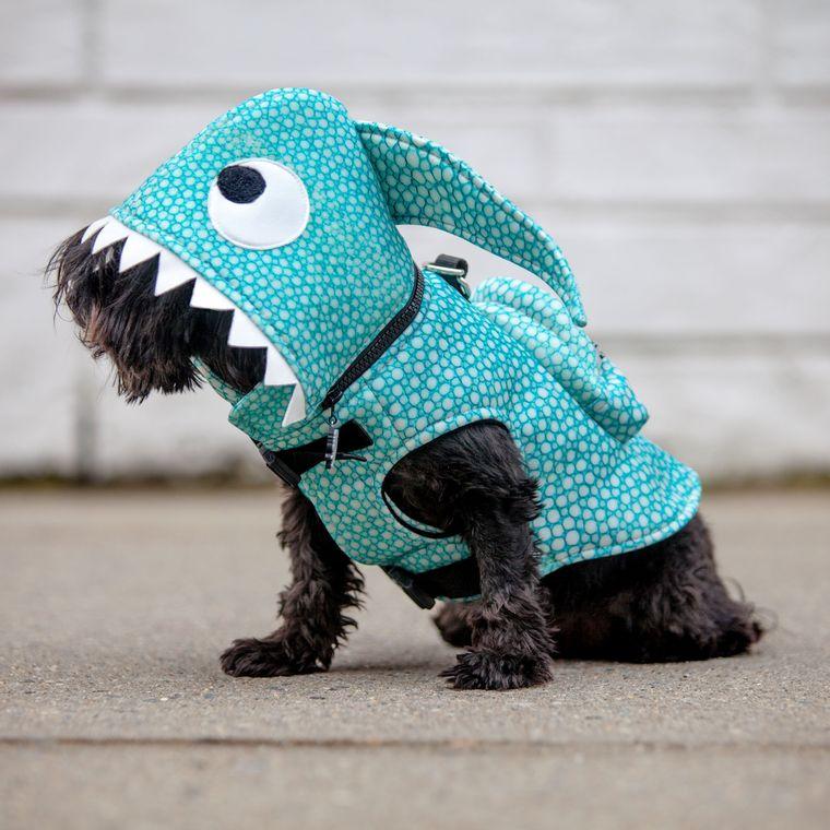 Shark Waterproof Hoodie Jacket with Backpack - Limited Edition