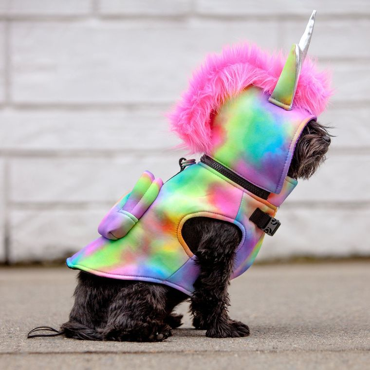 Unicorn Waterproof Hoodie Jacket with Backpack - Limited Edition
