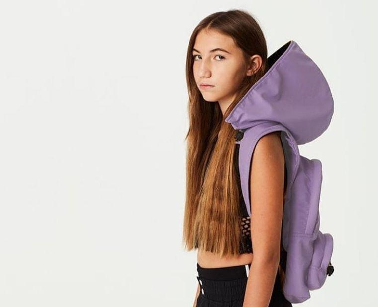 Gummy Series - Waterproof Hooded Backpack