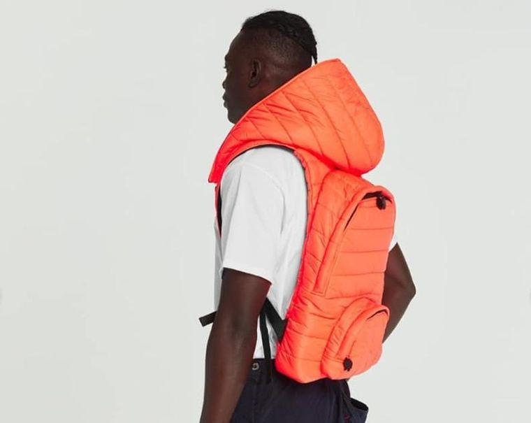 Puffer Series Hooded Backpacks