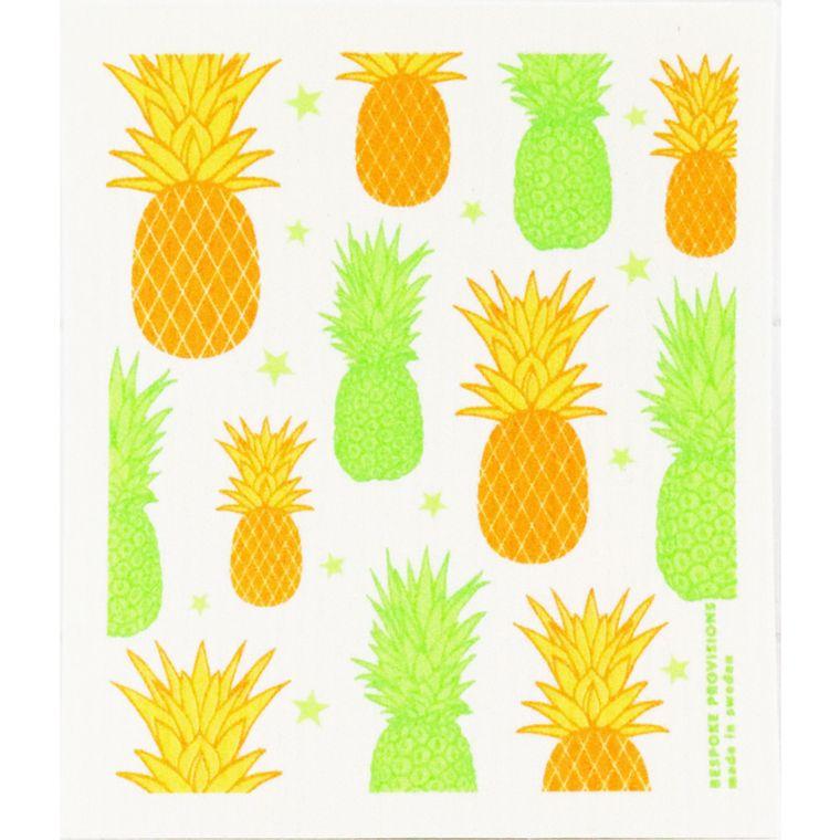 Pineapples Swedish Dishcloth