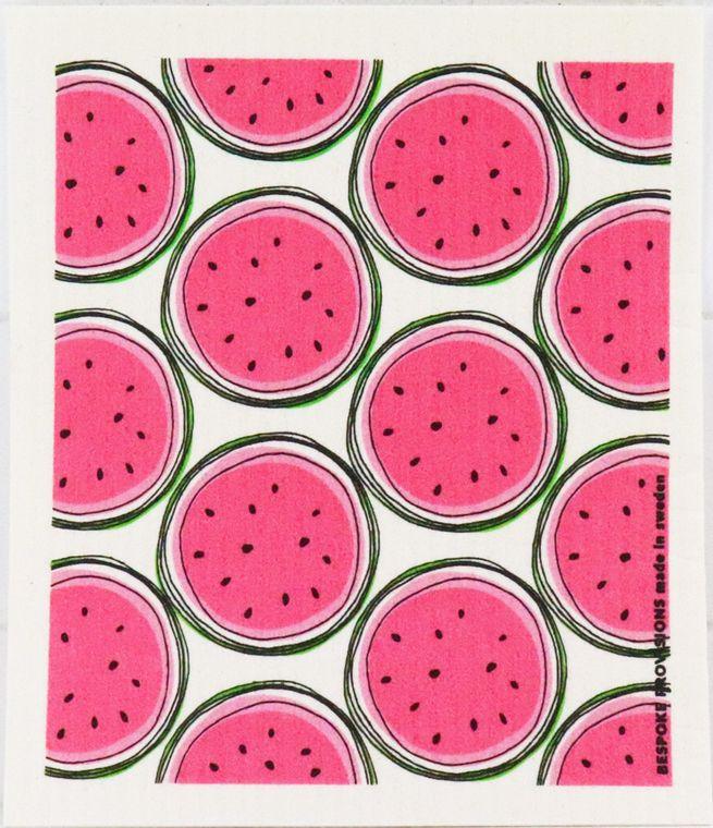 Watermelon Swedish Dishcloth