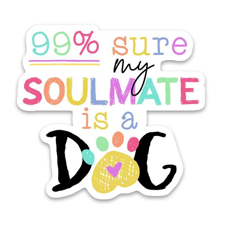 Sticker Dog Soulmate