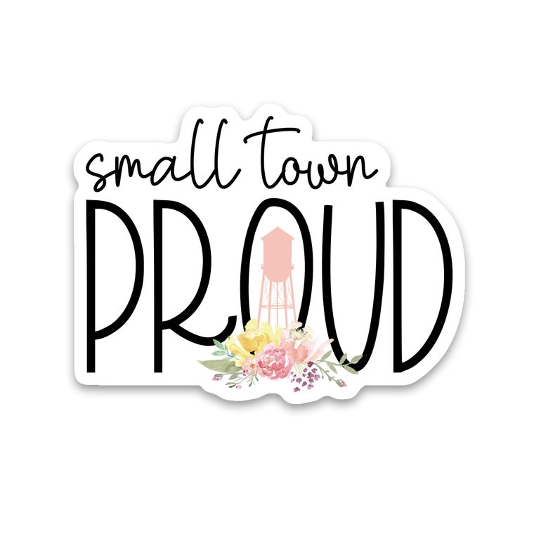 Sticker Small Town