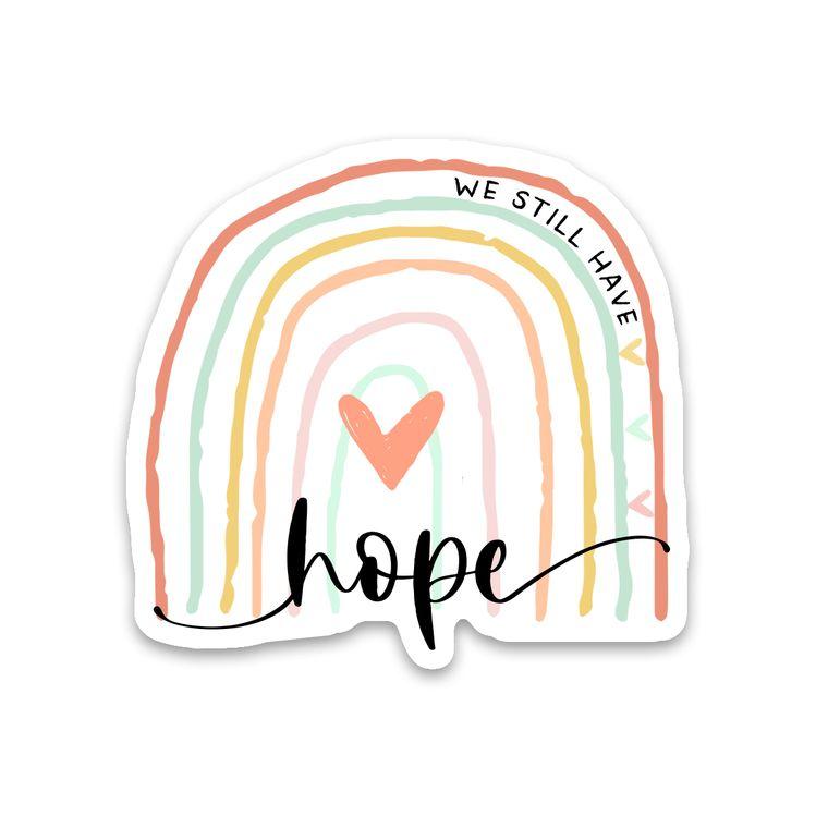 Sticker Hope Rainbow