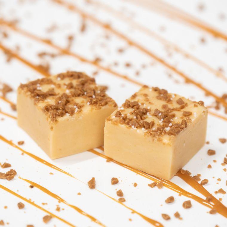 Salted Caramel Toffee Fudge