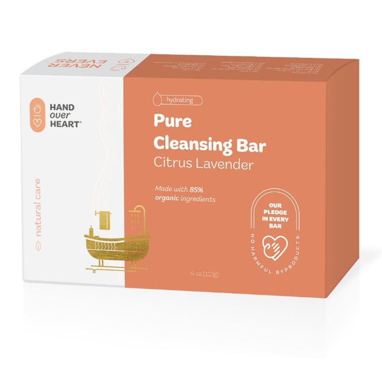 Pure Citrus Lavender Cleansing Soap Bar 4oz
