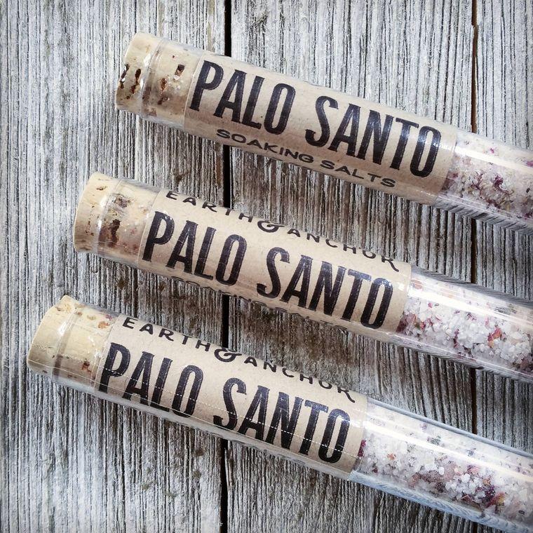 Palo Santo Bath Salt Tube
