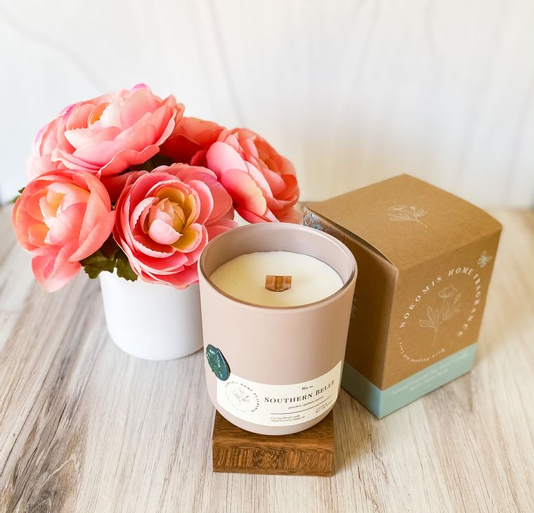 Southern Belle Coconut Soy Candle