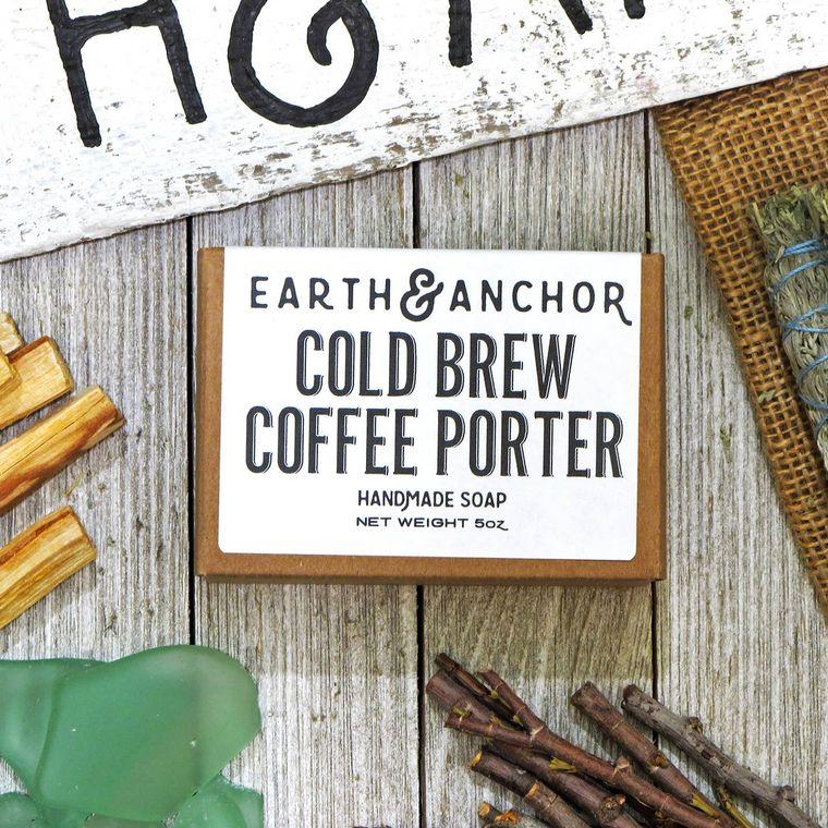 Cold Brew Coffee Porter Soap