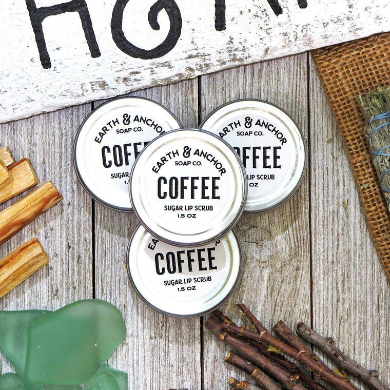 Coffee and Sugar Lip Scrub