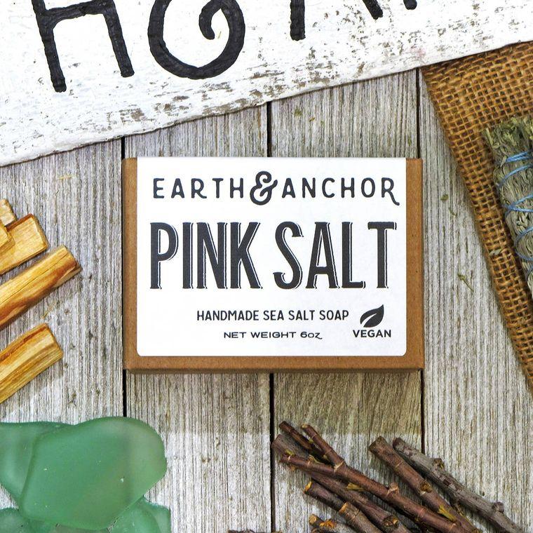 Pink Salt Sea Salt Soap