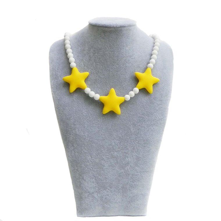 Little Stars Children's Silicone Necklace