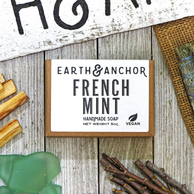 French Mint Soap