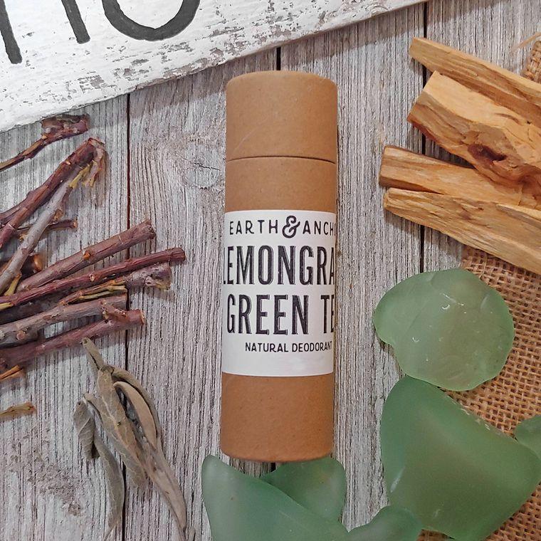 Vegan Deodorant - Lemongrass & Green Tea