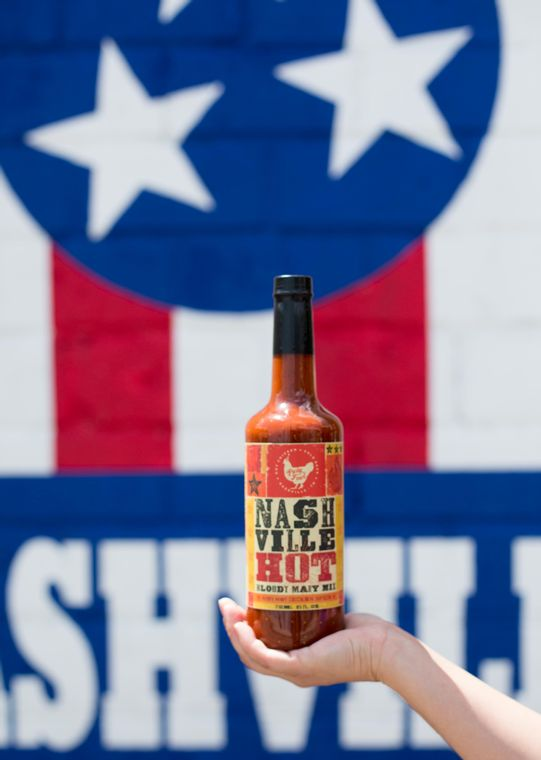 """Walker's Party Fowl """"Nashville Hot"""" Bloody Mary Mix"""