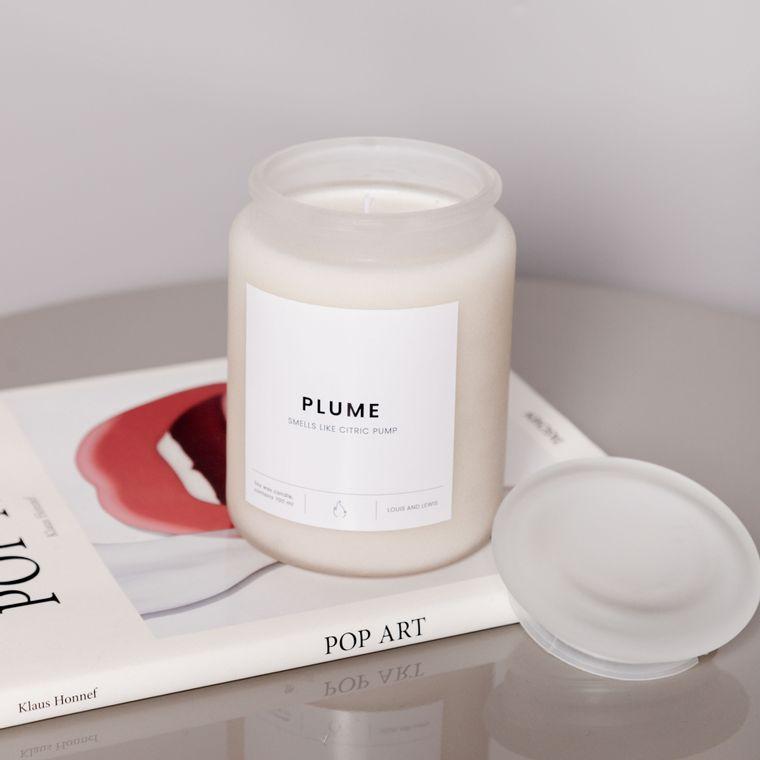 Plume Candle - Large -