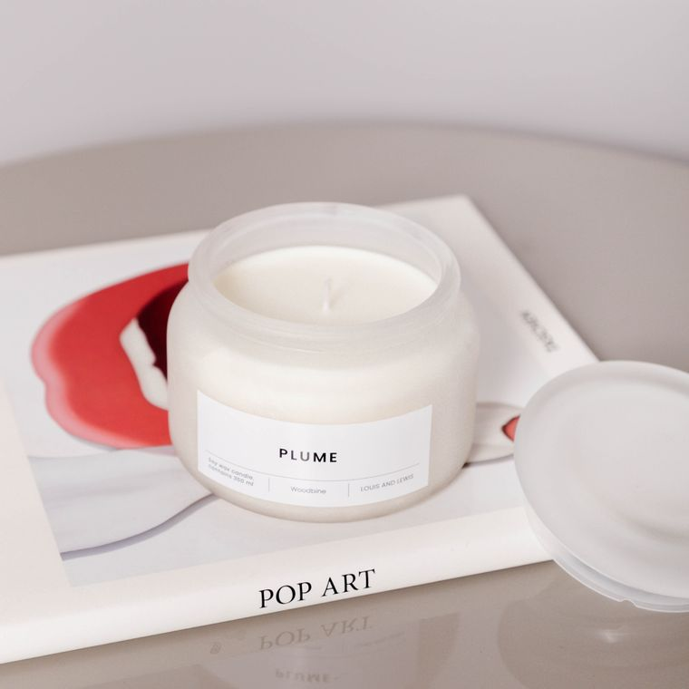 Plume Candle - Small -