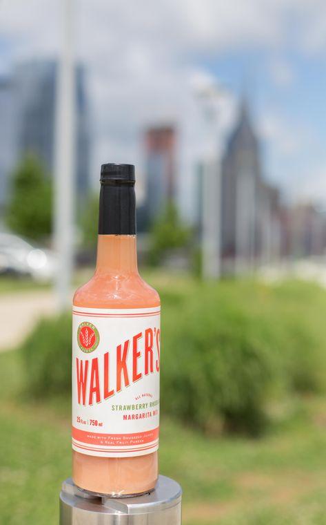 Walker's Strawberry Rhubarb Margarita