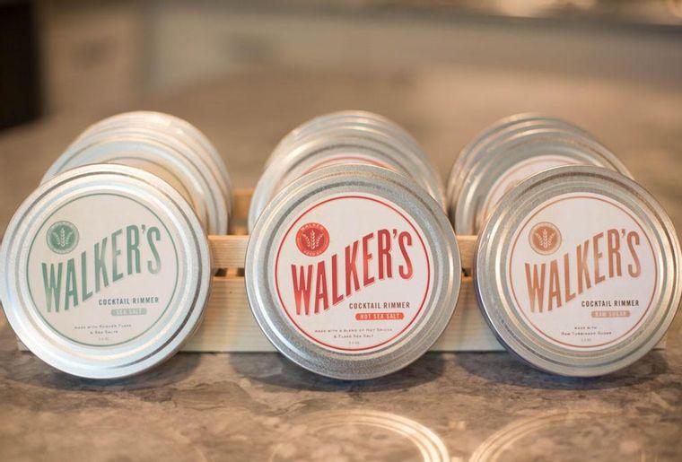 Walker's Cocktail Rimming Salts and Sugar 3.5 oz
