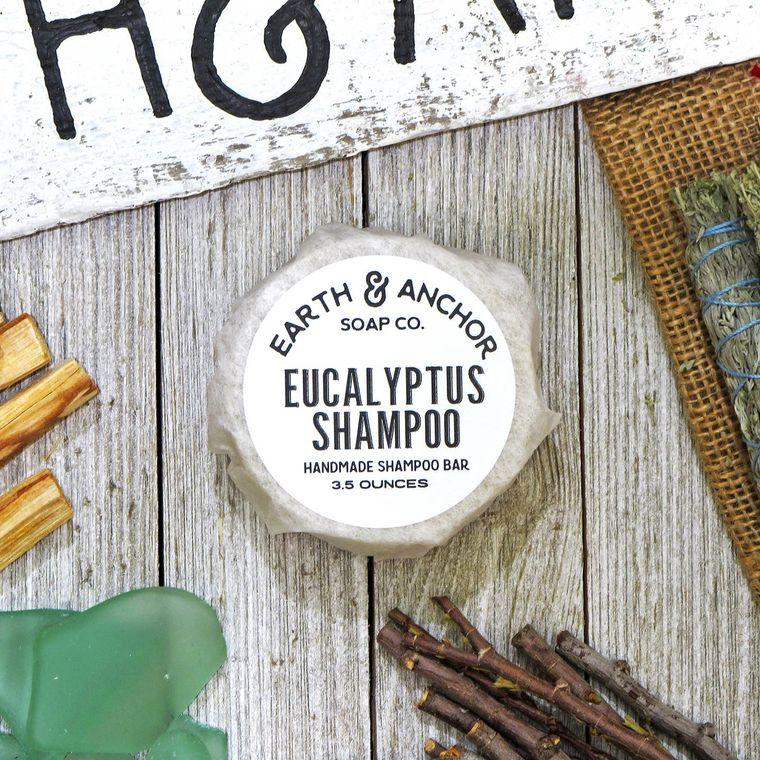 Eucalyptus Shampoo Bar Refill