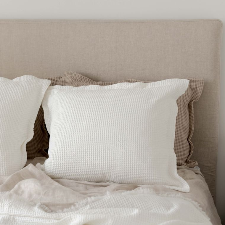 Waffle Pillow - Off White -