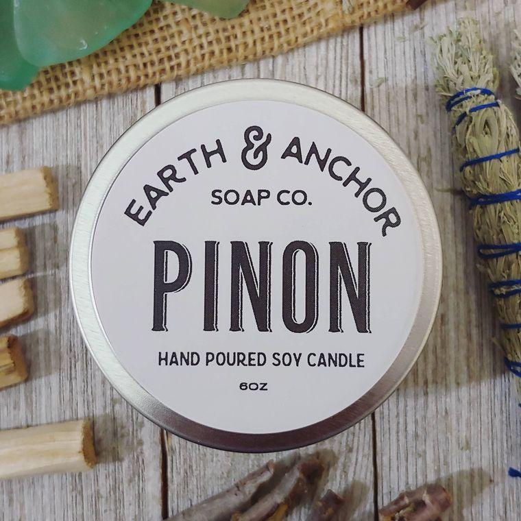 Pinon Pine Soy Candle 6oz