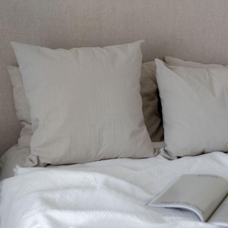 Tussor Pillow - Sand -