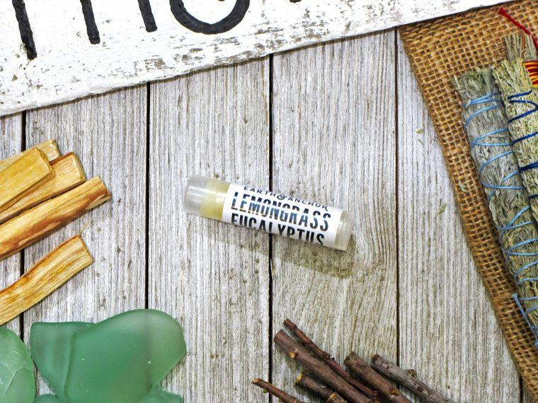 Lemongrass Eucalyptus Vegan Lip Balm