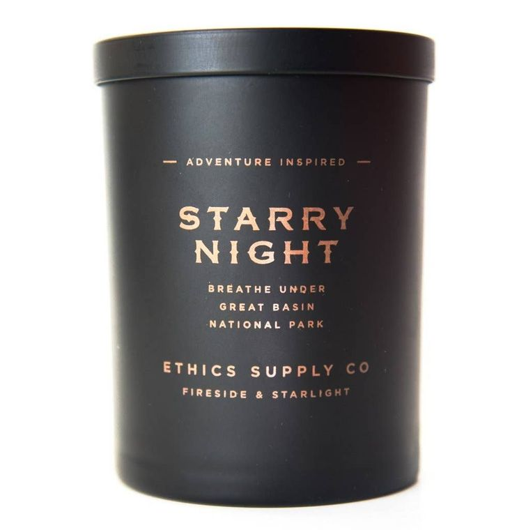 FIRESIDE + STARLIGHT Starry Night Candle | 11 oz