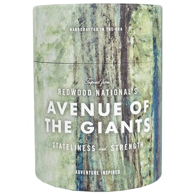 NP Redwood State Park Avenue of The Giants Candle |  11 oz