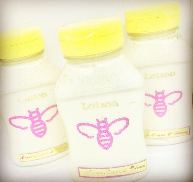 Brown Sugar & Honey Natural Lotion