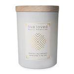 SOULFUL ADVENTURES Live Loved Candle Wood Lid   11 OZ