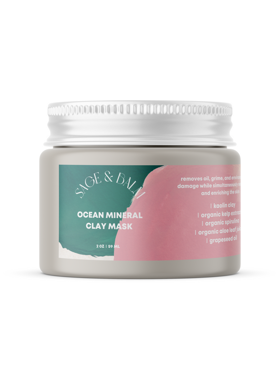Ocean Mineral Clay Mask