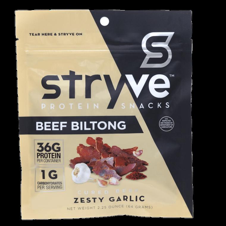 Beef Biltong - Zesty Garlic - 2.25oz
