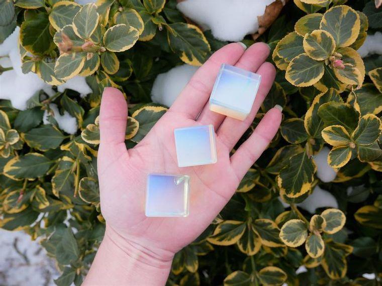 Opalite Cubes