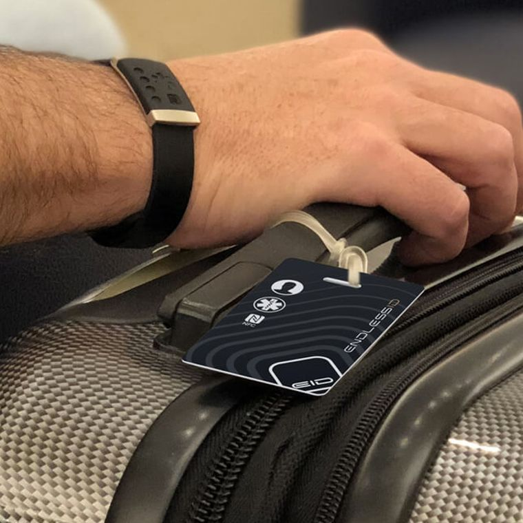EndlessID Luggage and Backpack Smart Tag