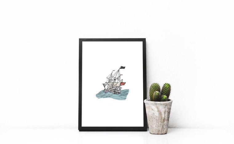Sojourner Sails Print