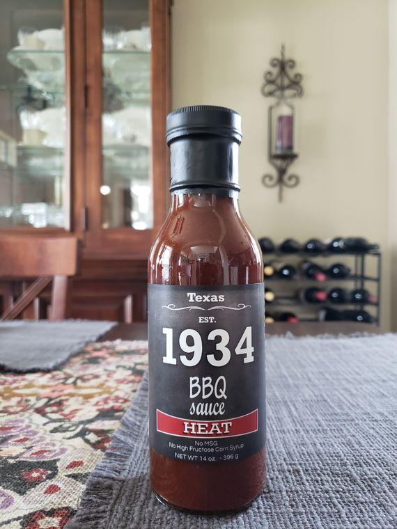 1934BBQ Sauce Heat