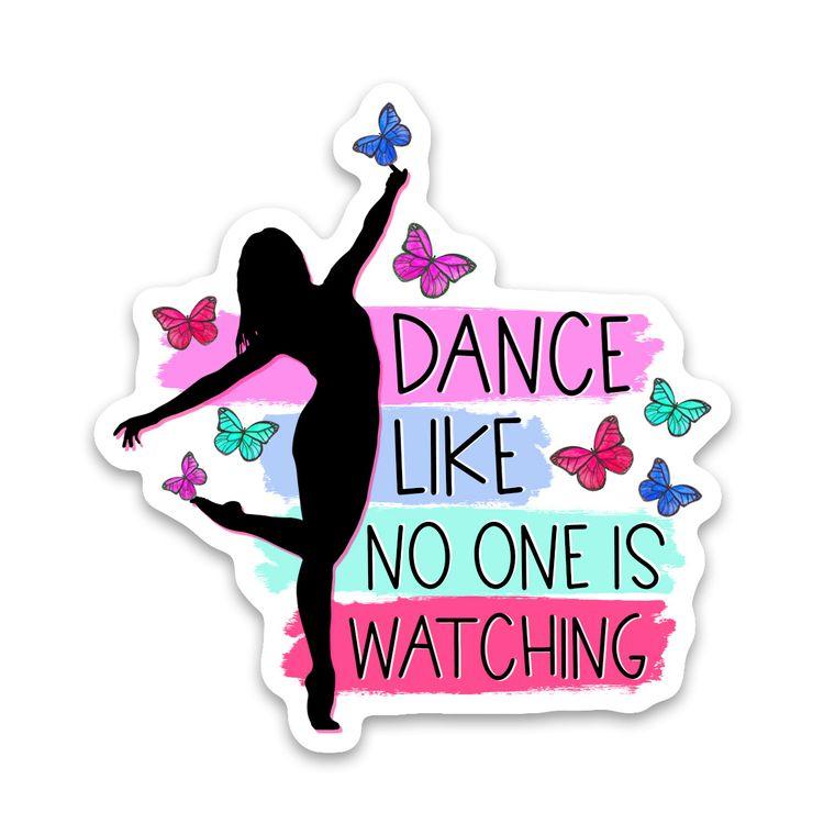 Sticker Dance Like No One Is Watching