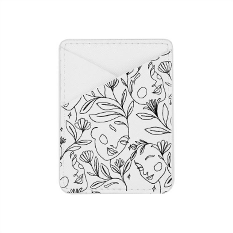 Women Line Art-  Card Pocket