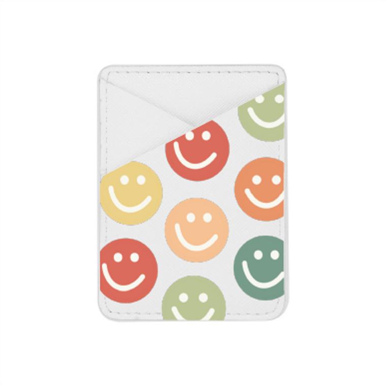 Smiley Face - Card Pocket