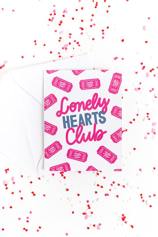 Lonely Hearts Club - Card